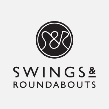 swings and roundabouts Logo design